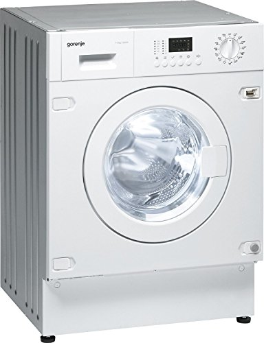 Gorenje WDI73120 HK Built-in Front Load B White - Washing Machines with Dryer (Front, Built-in, White, Left, Buttons, Rotating, LED)