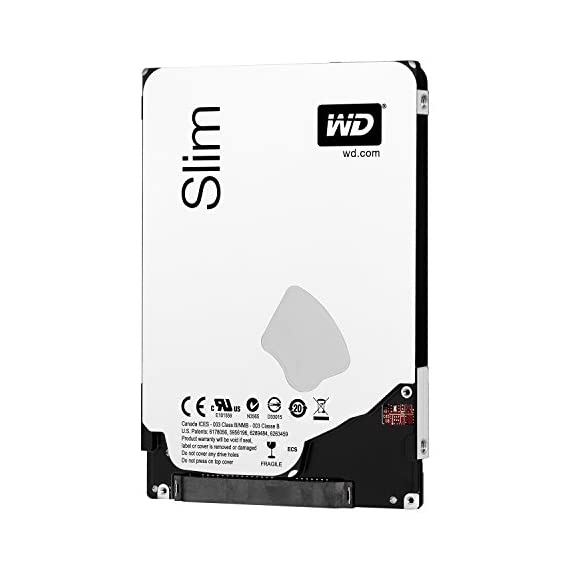 WD Blue 1TB Laptop 7mm Hard Drive: 2.5 Inch, SATA 6Gb/s, 5400 RPM, 8MB Cache (WD10SPCX),Black, grey 2 Low profile design to fit thin laptops and tablets. Low power consumption and ultra-quiet design. Reliable and rugged - Shock Guard technology protects the drive mechanics and platter surfaces from shocks. Secure Park parks the recording heads off the disk surface during spin up, spin down, and when the drive is off.