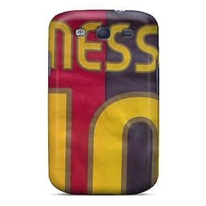 CjvRasR5483VmYWl Messi Awesome High Quality Galaxy S3 Case Skin