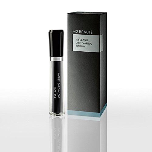 M2Beaute Mascara & Eyelash Activating Serum 5ml - 3 LOOKS BLACK NANO MASCARA with 5ml Eyelash growth Serum & M2Beaute Gift Box by M2Beaute (Image #1)