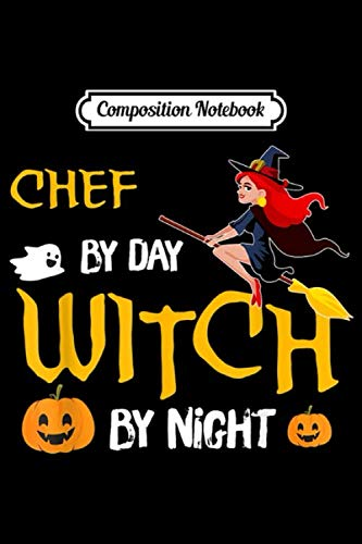 The Chew Halloween Recipes (Composition Notebook: Chef Funny Witch Halloween Costume Gift Ideas  Journal/Notebook Blank Lined Ruled 6x9 100)