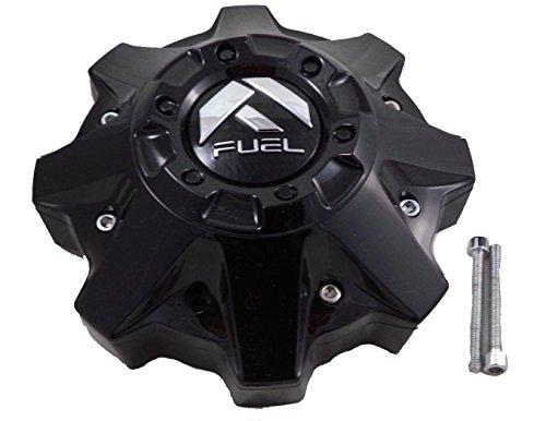Fuel Gloss Black Wheel Center Cap (1) 1002-49B, M-447, 1002-53B-1 (Large Center Caps)
