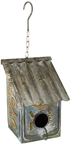 BACKYARD EXPRESSIONS PATIO · HOME · GARDEN 905653 License Plate Saltbox Bird ()