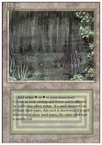 Magic: the Gathering - Bayou - Revised Edition