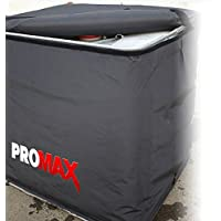 ProMAX 220 Gallon IBC Tote Heater w/Insulated Lid Cover, 120V, 1800W, Adjustable Thermostat 0-212°F, High Wattage / High Heat Solution, Heats Faster than Competitor Models.