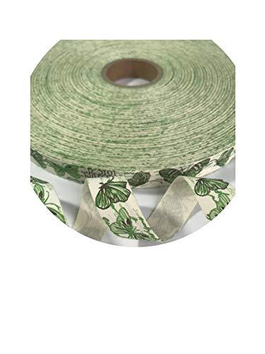 (5 Yards/Lot 15Mm Cotton Ribbon Handmade Design Printed Cotton Ribbons for Wedding Christmas Decoration)