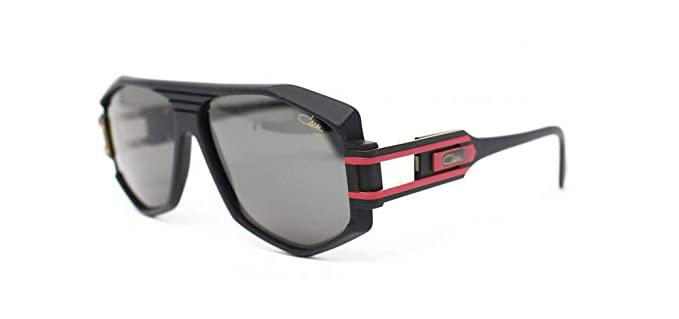 9672ef55297e Cazal 163 302 Sunglasses 011SG Matte Black-Red   Grey Gradient Lens 59 mm