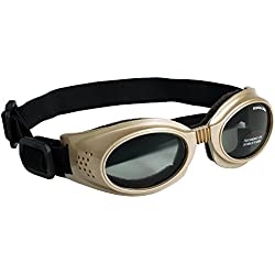 Doggles Originalz Chrome Frame/Smoke Lens, Choose a Size: Large