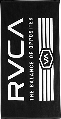 rvca-mens-placement-towel-black-white-one-size