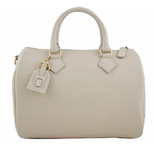 Superflybags - Bolso de asas para mujer M Beige