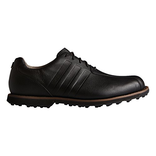adidas Men's Adipure TC Golf Cleated, Core Black/Core Black/Core Black, 9.5 M (Adidas Adipure Leather)