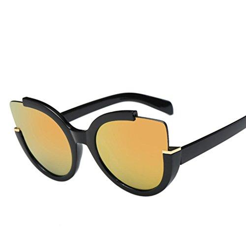 Retro Moda Espejo Logobeing Unisex Gafas Mujeres C de de Lente Hombres Sol Aviador Vintage Gafas Sol qSwvEr8xv0