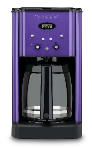 Cuisinart DCC-1200MPUR Brew Central 12-Cup Programmable Coffeemaker, Metallic Purple