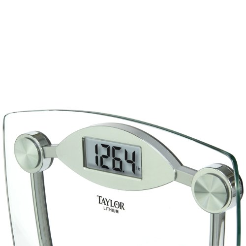 082197104075 - Taylor Glass and Chrome Digital Scale carousel main 2