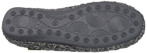 Ci0249 Grünland Grigio Caviglia Aperte Sulla Pantofole Donna dwArpqw4