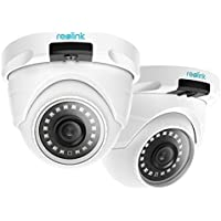 Reolink RLC-420-5MP (2 Pack) PoE Camera Outdoor Video...