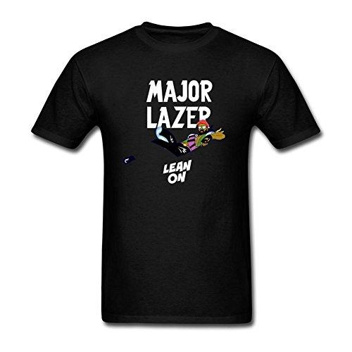 CNTJC Men's Major Lazer Y DJ Snake T Shirt S (Major Johnson T-shirt)