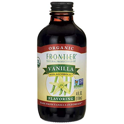 Frontier Organic Vanilla Flavoring, 4 Ounce (Dr Oz Best Greek Yogurt)