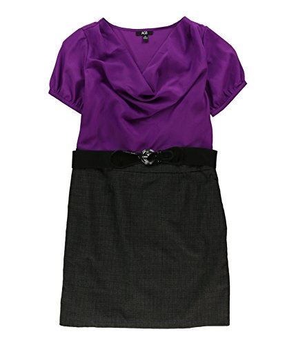 Line Purplegray Dress A Womens Office AGB qXxtHwpT1