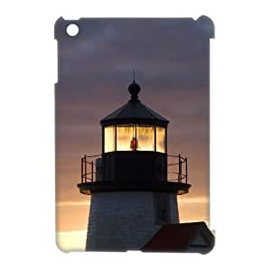 3D Case Of Lighthouse 3D Bumper Plastic Customized Case For iPad Mini