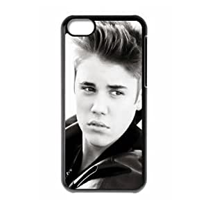 Popular Singer Justin Bieber Pattern Productive Back Phone Case For Iphone 5c -Style-3