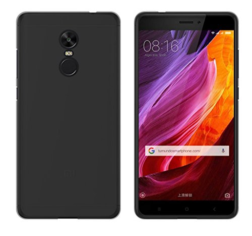 Tumundosmartphone Funda Gel TPU para XIAOMI REDMI Note 4X / Note 4 Version Global Color Negra