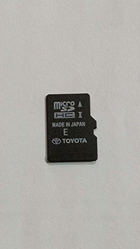 Toyota Camry Highlander Tundra Tacoma Corolla Avalon Sequoia Rav4 4-runner Navigation Micro SD Card ,Map Update chip , GPS , 86271-0E180 , OEM PART ()
