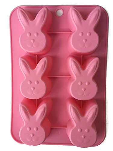 Pink Easter Bunny Baking Mold