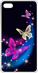 Group Of Butterflies Clear PC Case for Apple iPhone 4 or iPhone 4s