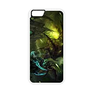 iPhone 6 Plus 5.5 Inch Cell Phone Case White Illidan Stormrage 08 Grygs