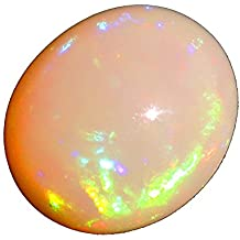2.92 100% Natural Ethiopian OPAL Gemstone Oval Shape With Fire Best For Love