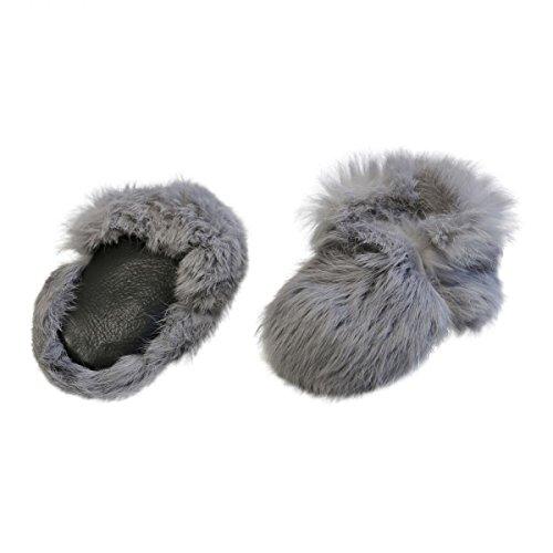 Hopsi Leather Argent Hollert Avec Chaussons Bébé Chaussures Lapin Fashion German Enfants Laine a7SgSfqwY