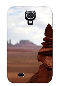 Christmas Day's Gift- New Arrival Cover Case With Nice Design HTC One M8- Rock Formation In Monument Valley