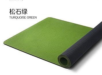YROAR Widened 80cm Odor-Free Yoga Mat Mens Fitness Mat TPE ...