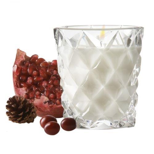 UPC 024258525153, WATERFORD ILLUMINOLOGY Diama holiday candle - pomegranate fragrance