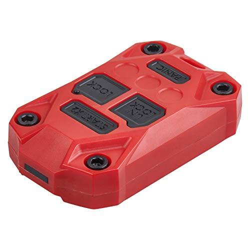 AJT DESIGN Injection Fob Case (Jeep Wrangler JK) RED