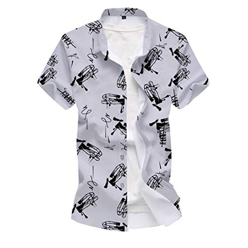 HARRICA Man Casual Unstitched Shirt Fabric White