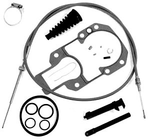 Intermediate Shift Cable Kit for Alpha One, R, MR and Gen II Replaces 865436A02, 19543T2 -