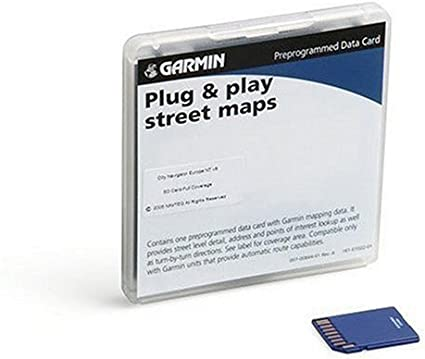 Amazon.com: Garmin City Navigator NT tarjeta SD para Garmin ...