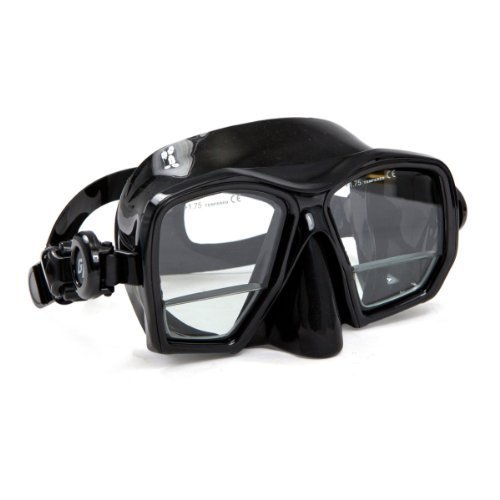 XS Scuba MA290 Bifocal Gauge Reader Mask with Magnifier lens (Black)