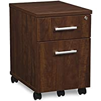 OFM CL-MBF-CHY Fulcrum Series Desk, Mobile 2 Drawer Pedestal, Cherry