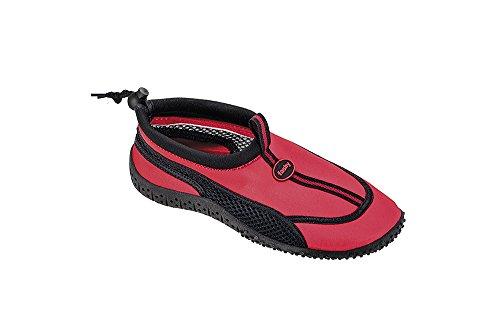 Fashy 7495 guamo - SEÑORAS Y Señores Zapatos AQUA rojo/negro