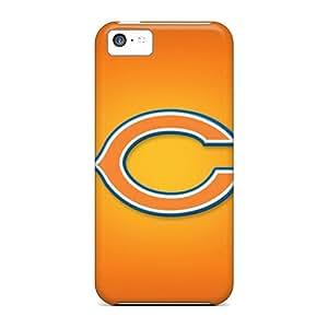 Shock Absorption Hard Phone Cases For Iphone 5c (UkX19472MoLC) Custom Nice Chicago Bears Skin