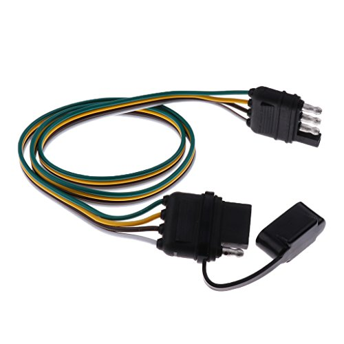 Galleon - Homyl Great Performance 80mm Trailer Wiring ... on trailer coupler types, trailer hitch types, hair extension types, wiring harness connector types,