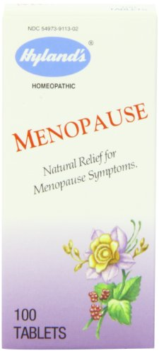 Hylands Menopause Tablets Homeopathic Symptoms