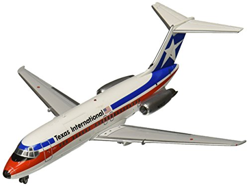 Dc 10 Airplane (Gemini200 Texas International DC-9-10 Final Livery/Polished Airplane Model (1:200)