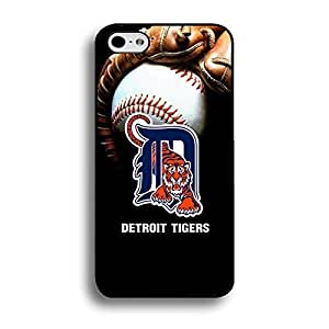 Iphone 6 (4.7 Inch) Case Abstract Design MLB Detroit Tigers Baseball Team Logo Sports Unique Design Personalized Printed Tpu Hard Plastic Protection Phone Accessories Case Cover for Men