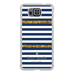 customized Samsung Galaxy Alpha Case Cover, Fashion Stylish DIY Kate Spade 98 White Case Cover For Samsung Galaxy Alpha