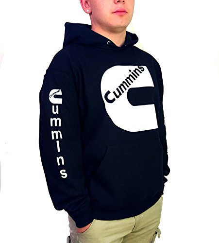 cummins-white-logo-unisex-black-hoodie