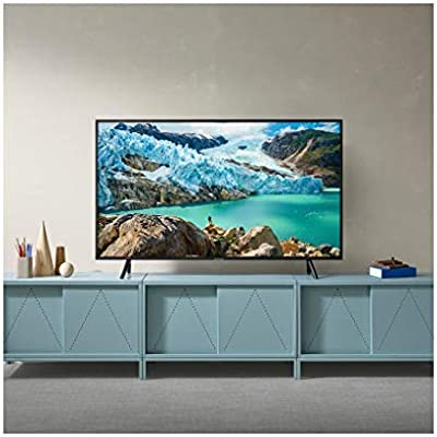 Samsung 65 Inch TV Smart HDR 4K LED Black - UA65RU7105RXUM